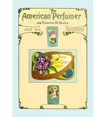 American Perfumer And Essential Oil Review July 1910 Framed Vintage Advertisement Buyenlarge