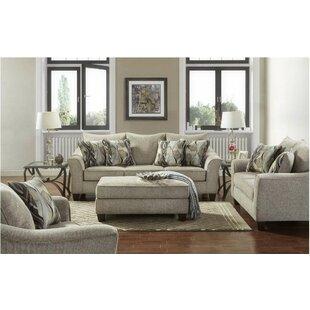 Alcott Hill Hartsock 3 Piece Living Room Set