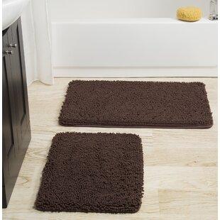 Brown Bathroom Rug Sets | Wayfair