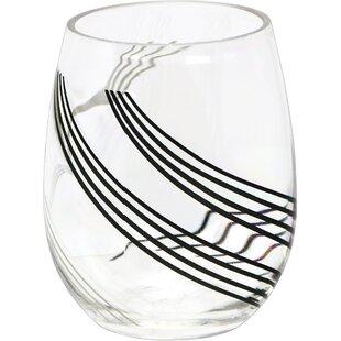 Urban Arc 16 oz. Acrylic Stemless Wine Glass (Set of 4)