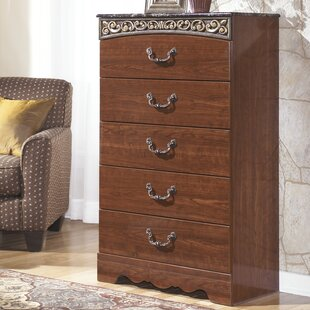 Viburnum 5 Drawer Chest by Fleur De Lis Living