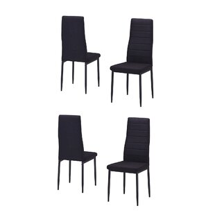 Ebern Designs Nuttall Upholstered Dining Chair (Set of 4)