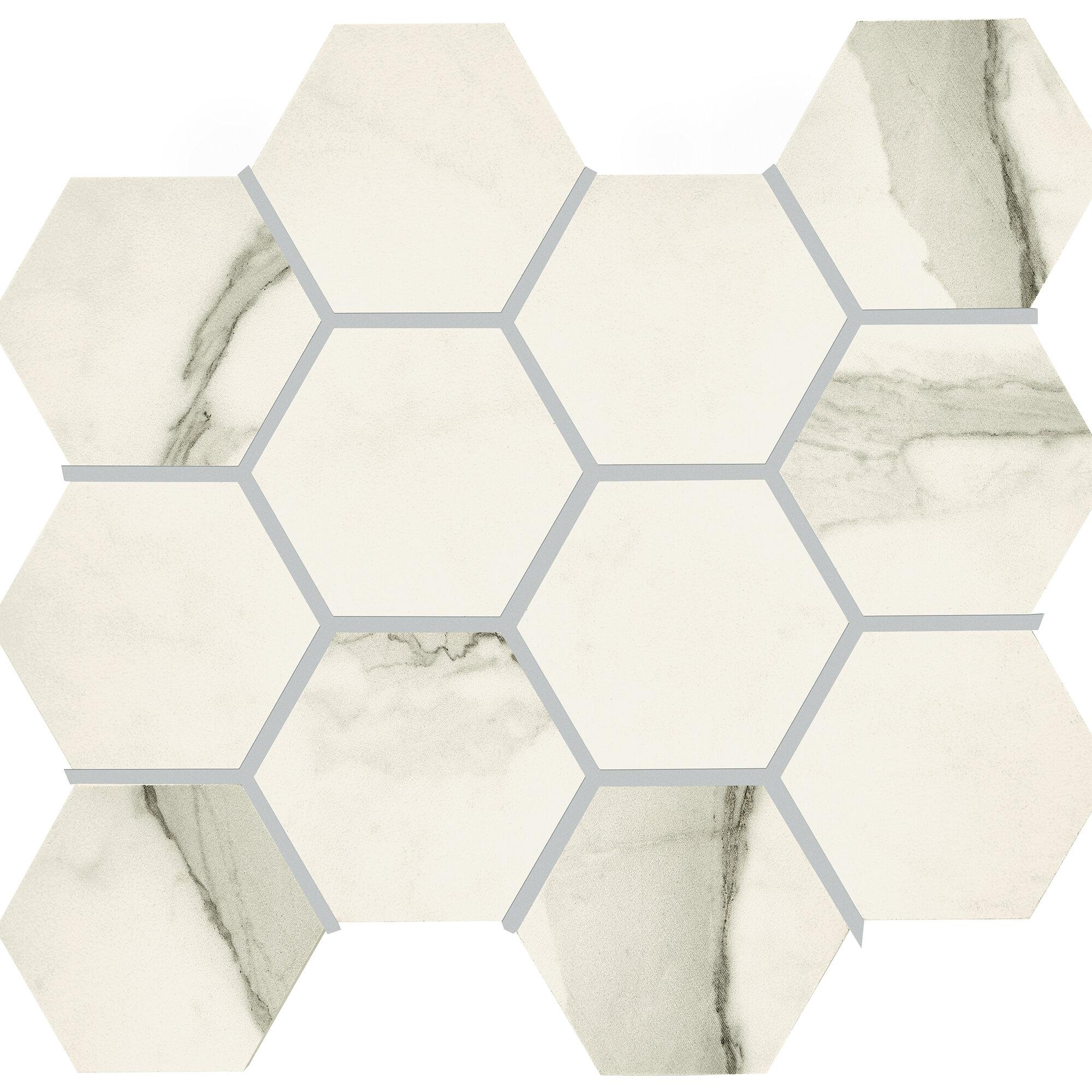 Kitchen feature walls Bathroom CUT SAMPLE Lima Beige Glass Mosaic Tiles