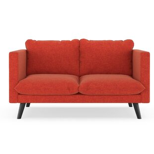 Cramer Cross Weave Loveseat by Corrigan Studio