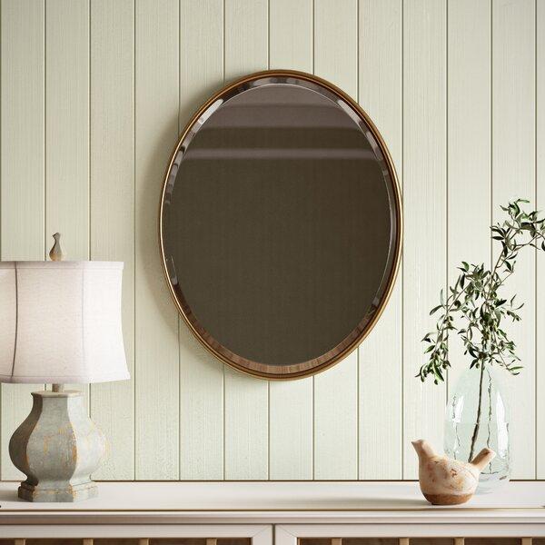 Waynesburg Modern Contemporary Beveled Accent Mirror Reviews Birch Lane