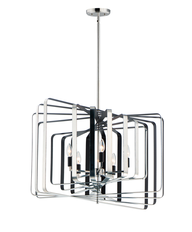 George Oliver Krupa 5 Light Unique Geometric Chandelier Wayfair