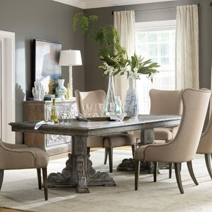 True Vintage Extendable Dining Table by H..