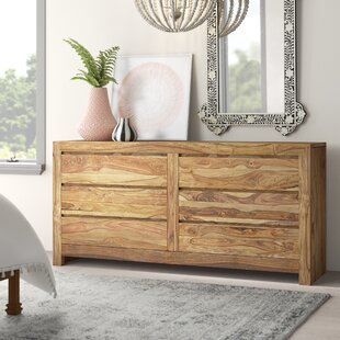 Allegro 6 Drawer Double Dresser