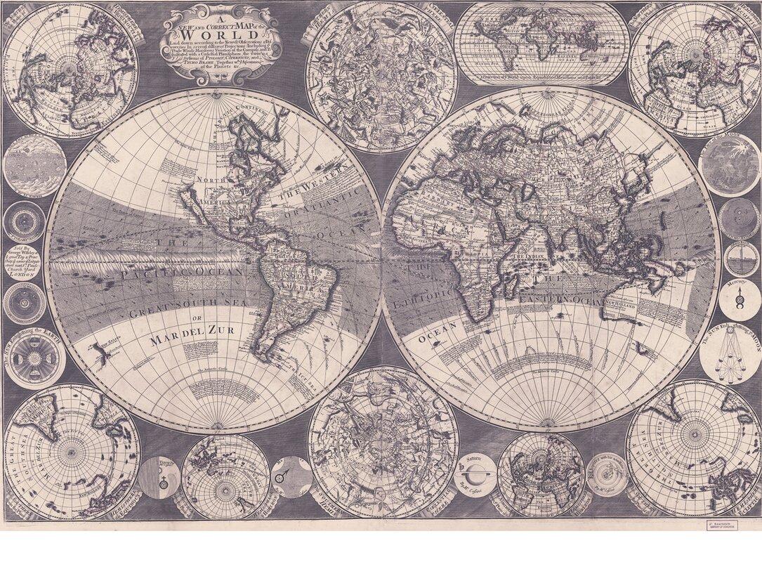 swag paper world map wall mural reviews wayfair default name