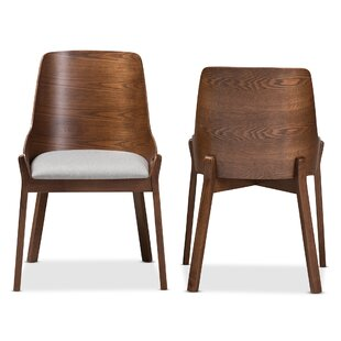 Widman Solid Wood Dining Chair (Set of 2) by George Oliver