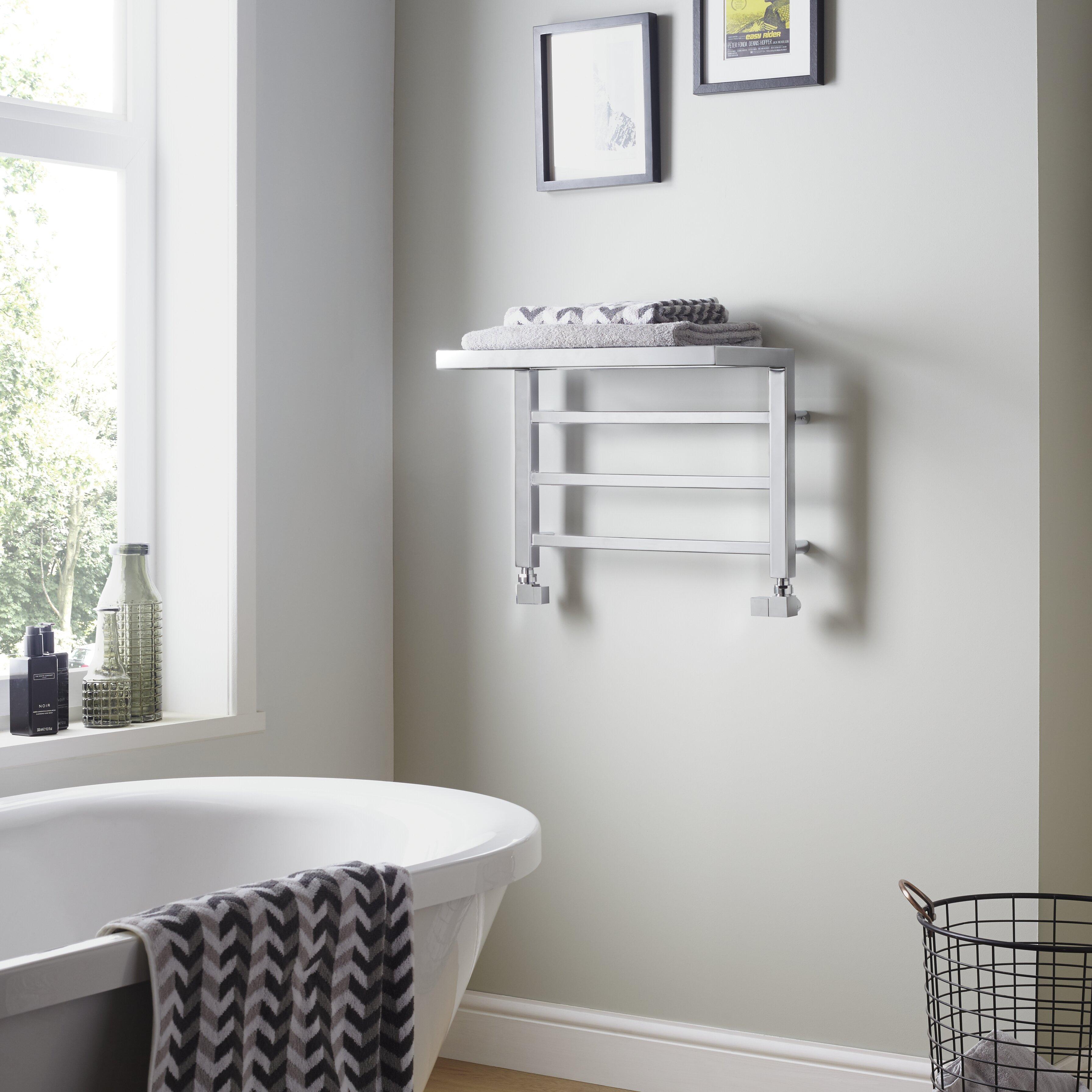 Belfry Heating Holyport Horizontal Heated Designer Towel Rail Reviews Wayfair Co Uk