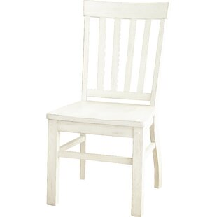 August Grove Embry Solid Wood Dining Chair (Set of 2)