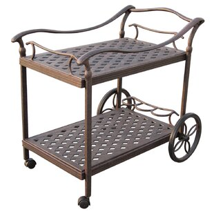 Camargo Serving Cart by Fleur De Lis Living