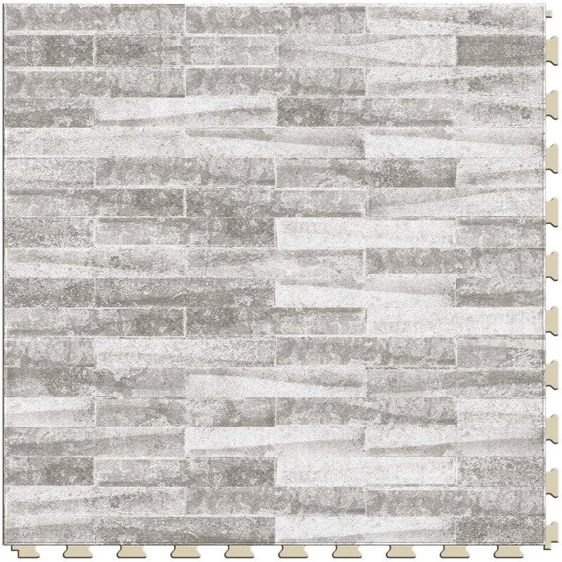 Master Mosaic 20 X 5mm Luxury Vinyl Tile In Castle Stone
