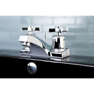 Kingston Brass Millennium Centerset Bathroom Faucet with Drain Assembly
