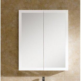 Hendrix 27.5 x 33.5 Surface Mount Medicine Cabinet by Orren Ellis