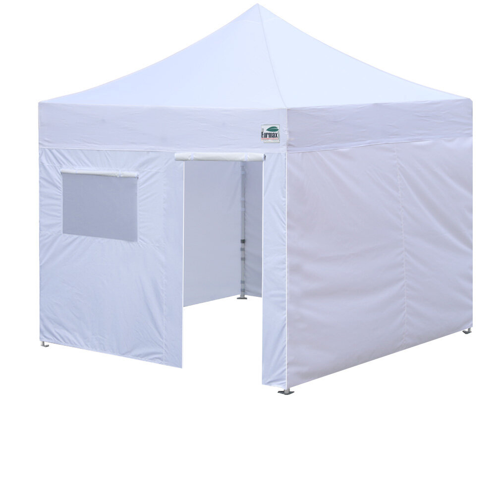 Pop Up Canopy Tent >> Commercial 10 Ft W X 10 Ft D Steel Pop Up Canopy