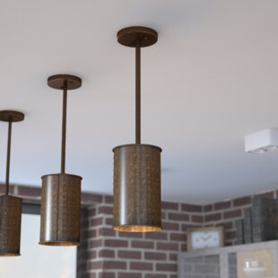 Trent Austin Design Vincent 1-Light Cylinder Pendant