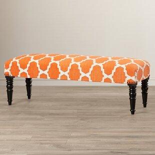 Bungalow Rose Lyon Upholstered Bench