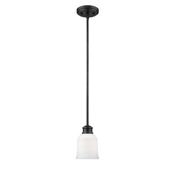 World Menagerie Coffey 1 Light Single Bell Pendant Reviews Wayfair