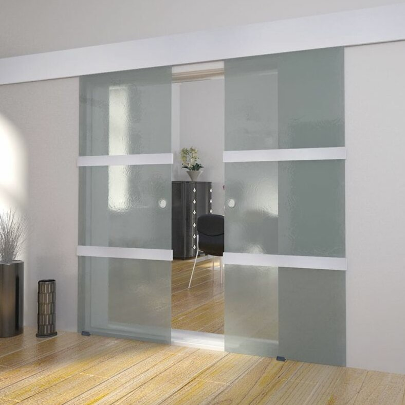 Vidaxl Glass Room Divider Interior Stable Door Wayfair