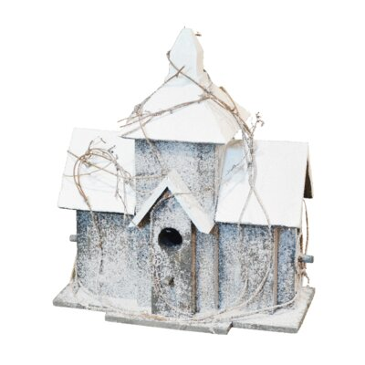 Snow Birdhouse Fantastic Craft