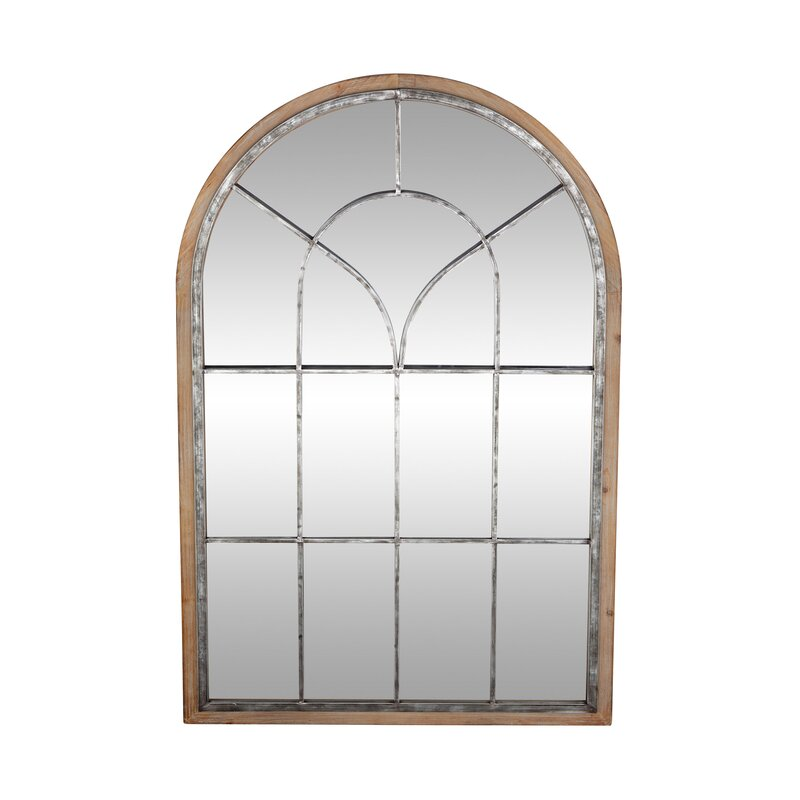 Gatton Rustic Arched Accent Mirror