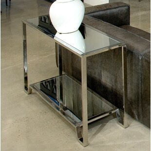 East End Stainless Steel Coffee Table Sarreid Ltd