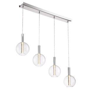 Sprouse 4-Light LED Pendant by Orren Ellis
