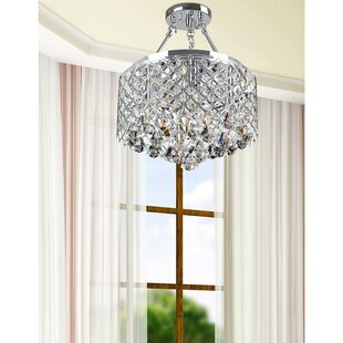 House of Hampton Mckim 4-Light Semi Flush Mount