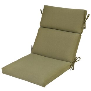 High Back Indoor Outdoor Dining Chair Cushion