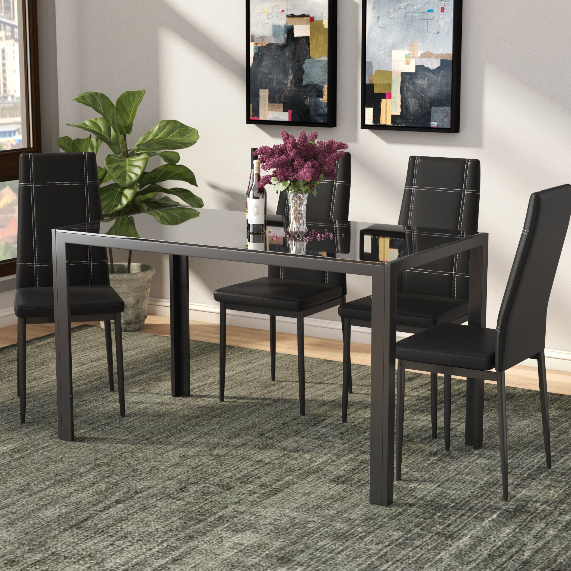 Ordinaire Maynard 5 Piece Dining Set