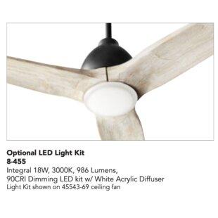 Globe Ceiling Fan Light Kits You Ll Love In 2021 Wayfair