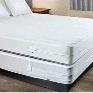 Beckett Sleep Defense System Hypoallergenic Waterproof Mattress Cover by Alwyn Home Find