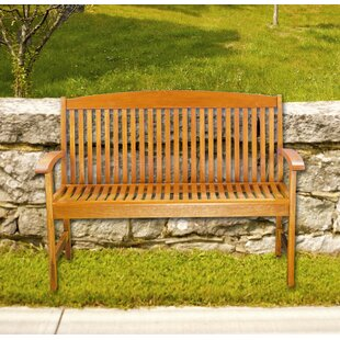 Anmoore 4' Classic Slat Bench by August Grove