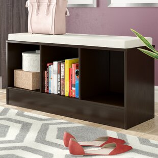 Ivy Bronx Hannah Wood Storage Bench