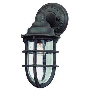 Wyman 1-Light Outdoor Wall Lantern by 17 ..