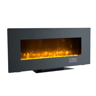 Tekamah Wall Mounted Electric Fireplace by Orren Ellis