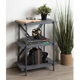 Charles 29.63 H x 21.5 W Metal Etagere Bookcase by Williston Forge