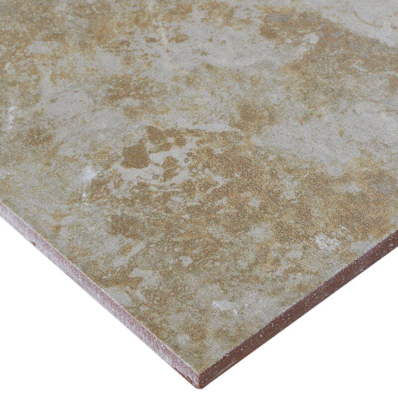 Itona Tile Cromwell 18 X 18 Ceramic Field Tile In Sage Wayfair
