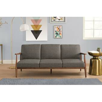 Julia Mid-Century Modern Convertible Sofa & Reviews | Joss ...