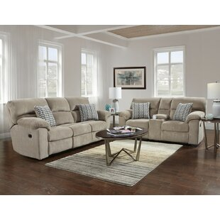 Melville Reclining 2 Piece Living Room Set