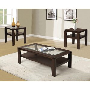 traditional coffee table sets you'll love | wayfair