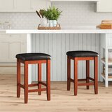 Haslingden Counter & Bar Stool (Set of 2) by Three Posts