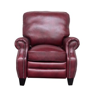 Loar Leather Manual Recliner Darby Home Co