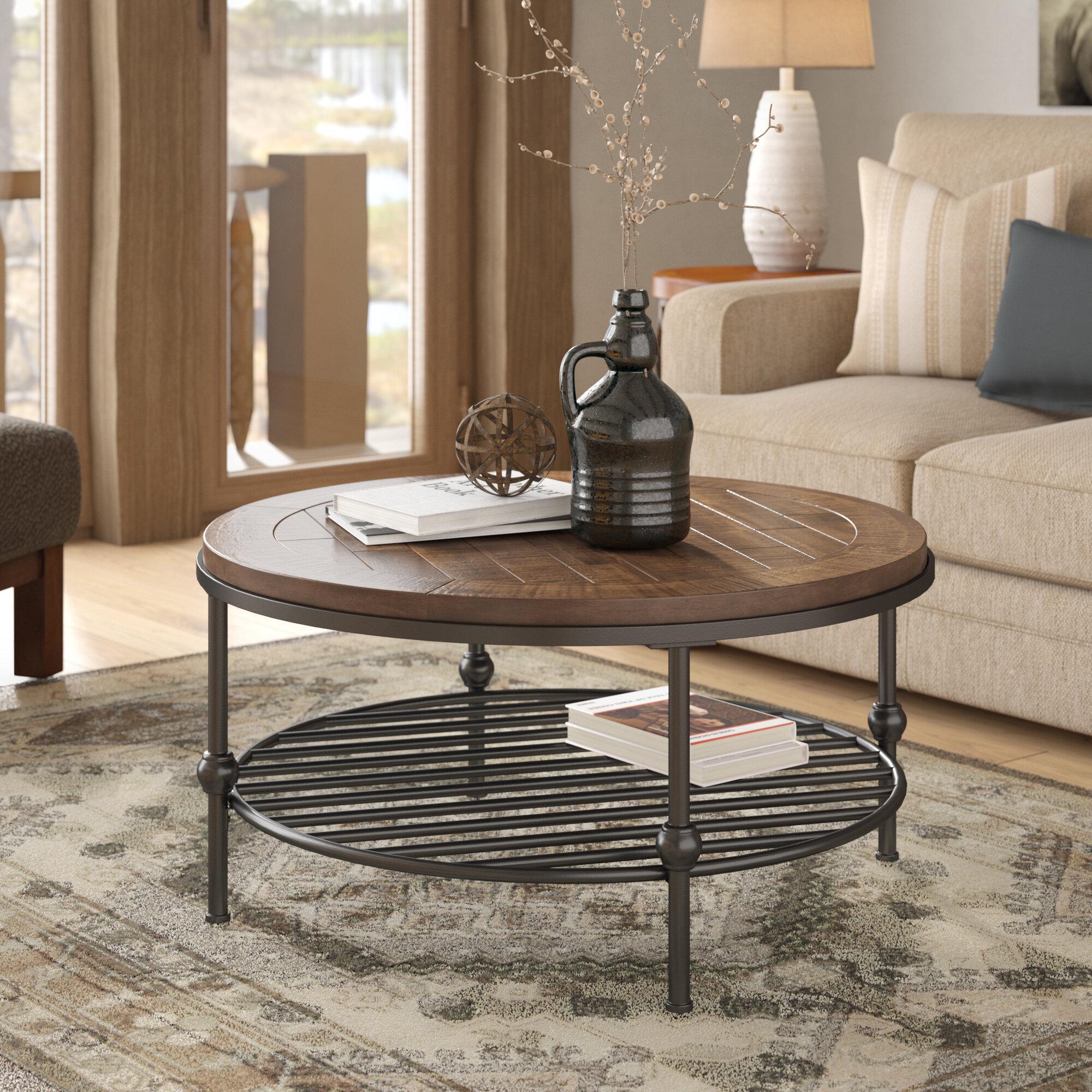 Gray Wash Coffee Table Wayfair