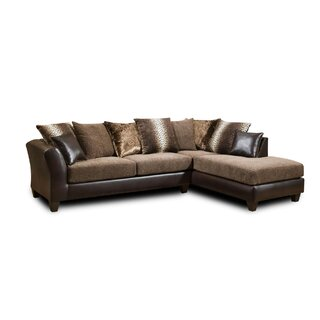 Anamara Right Hand Facing Sectional by World Menagerie SKU:DB652882 Price Compare