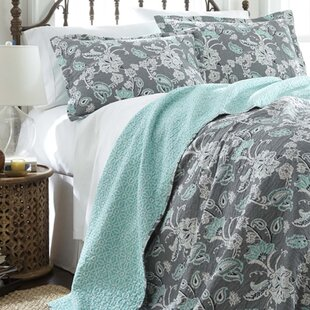 Tomblin 3 Piece Reversible Quilt Set