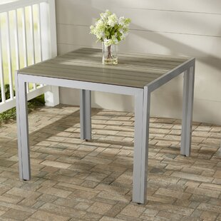 Allen Plastic/Resin Dining Table by Beach..
