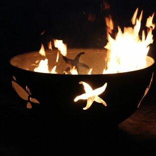 Fire Pit Art Sea Creatures Steel Fire Pit